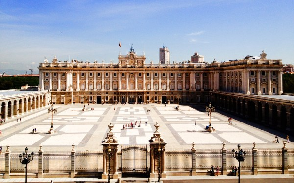 Royal Palace Madrid Spain