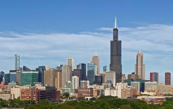 Willis Tower Chicago Skyscraper