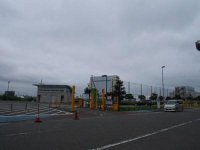 ここから駐車場