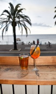 things to do in Nice France: visit bars in Nice