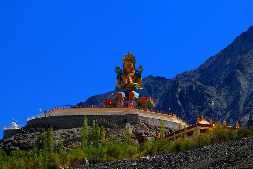 Maitreyi Buddha - Nubra Valley, Ladakh attractions