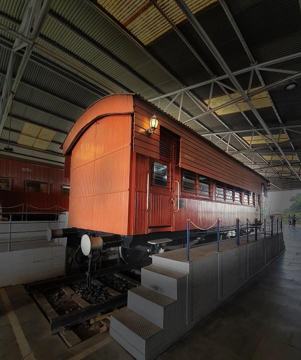 History of Indian railways at Rail Museum Kolkata