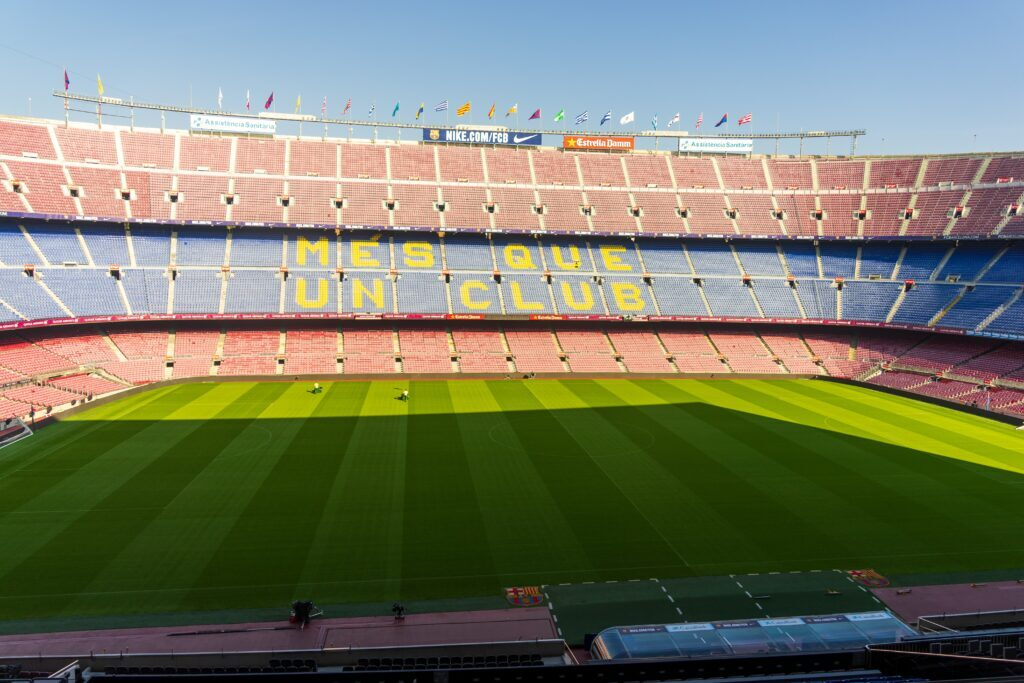 Camp Nou experience in Barcelona