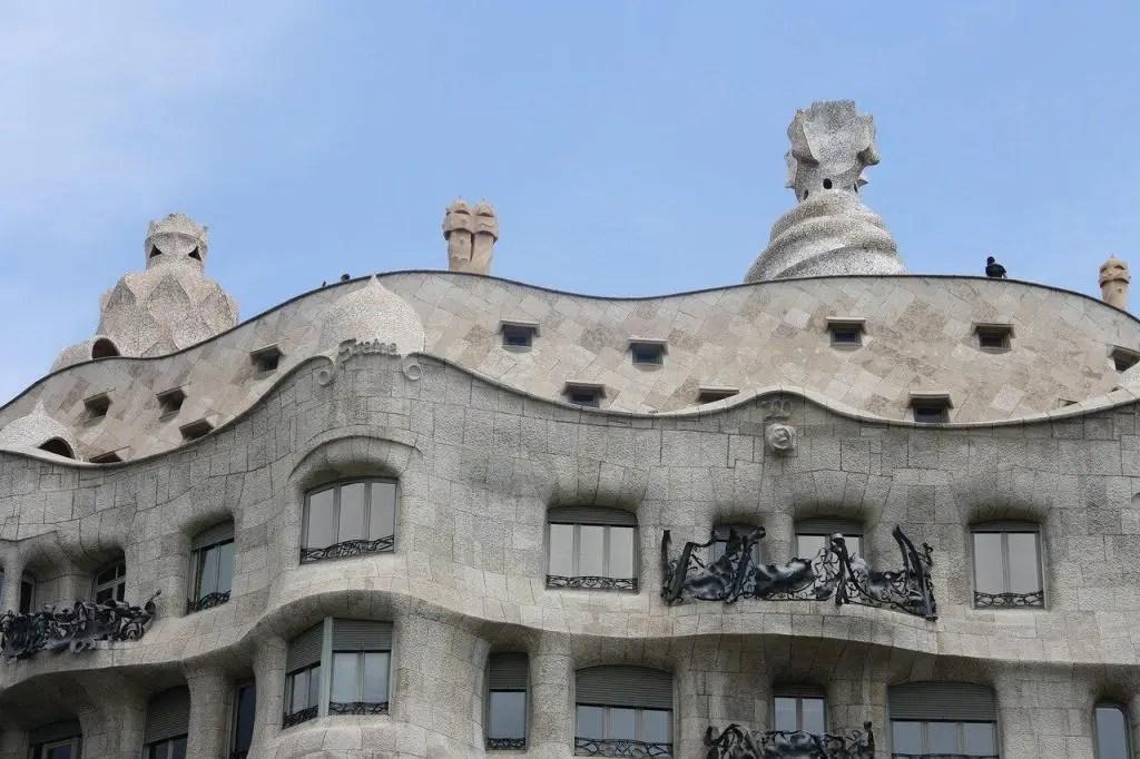 Sights in Barcelona - La Pedrera