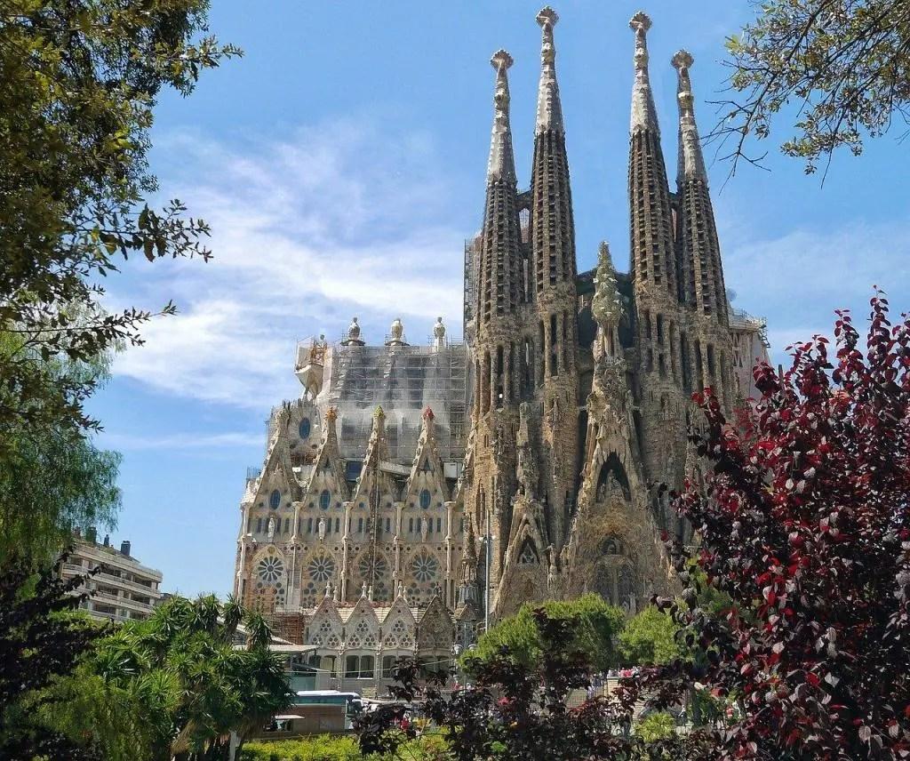 Sights in Barcelona - Sagrada Familia