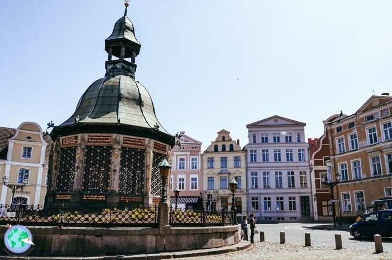 Ostsee1 - Plaza de Wismar r1