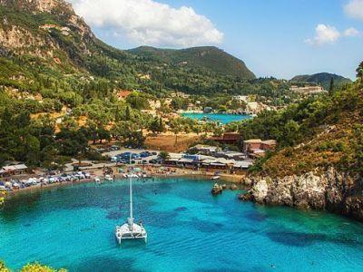 Vacaciones en Corfú, Grecia