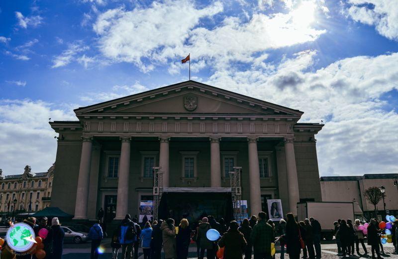 Vilna -Ayuntamiento con concierto r1