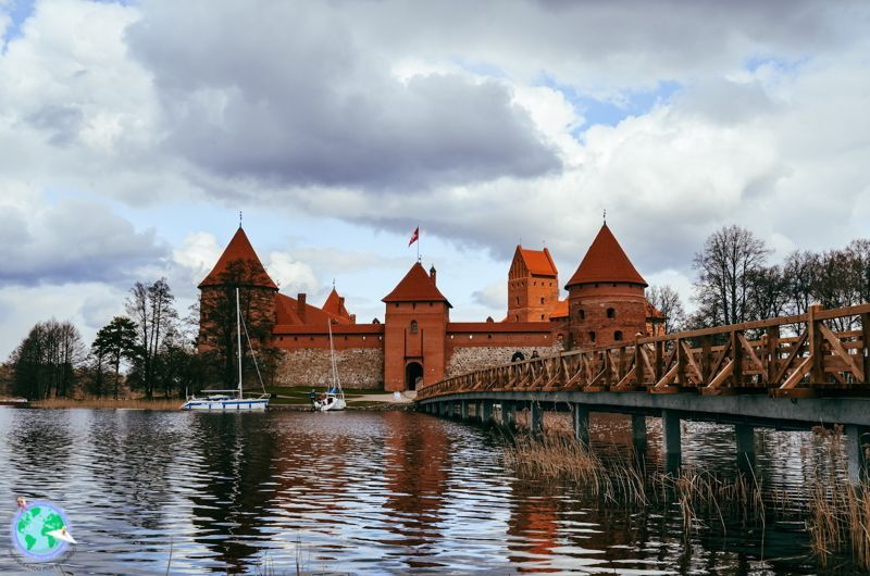 Vilna - Castillo de Trakai r1