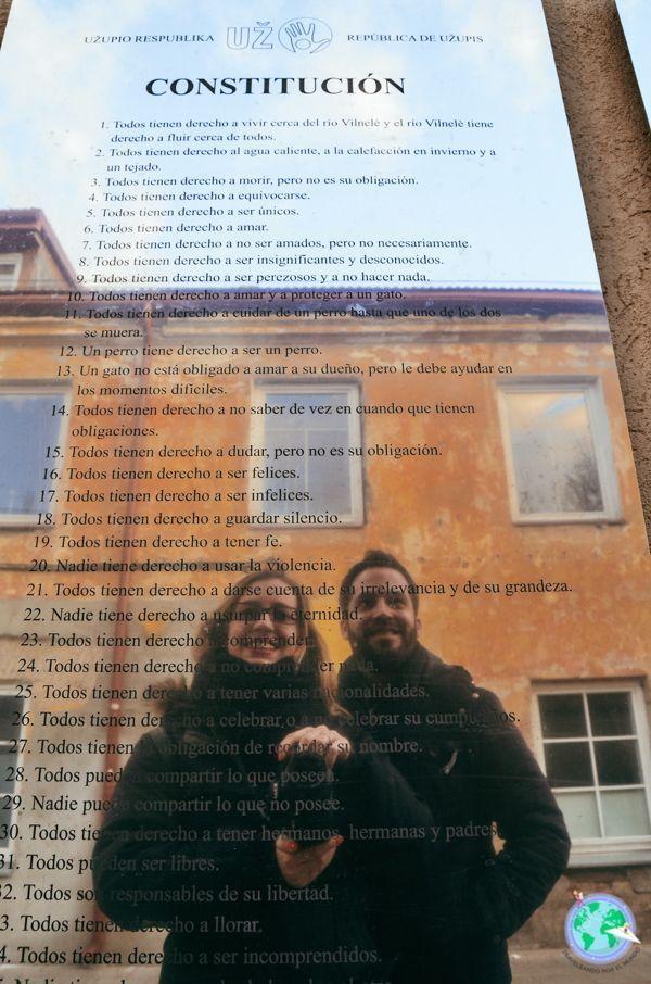 Vilna- Constitución de Uzupis r1