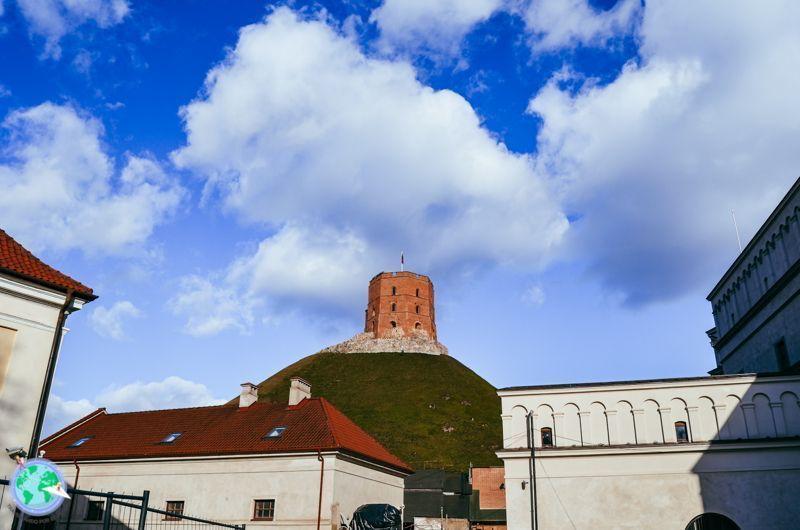 Vilna - Vistas desde la plaza de la torre de Gediminas r1