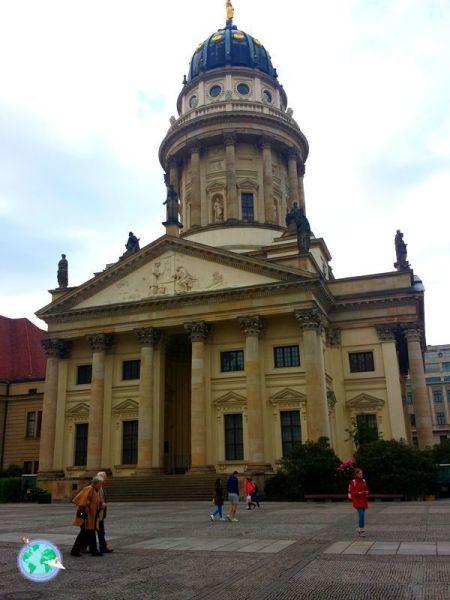 Catedral alemana en la Gendarmenmarkt