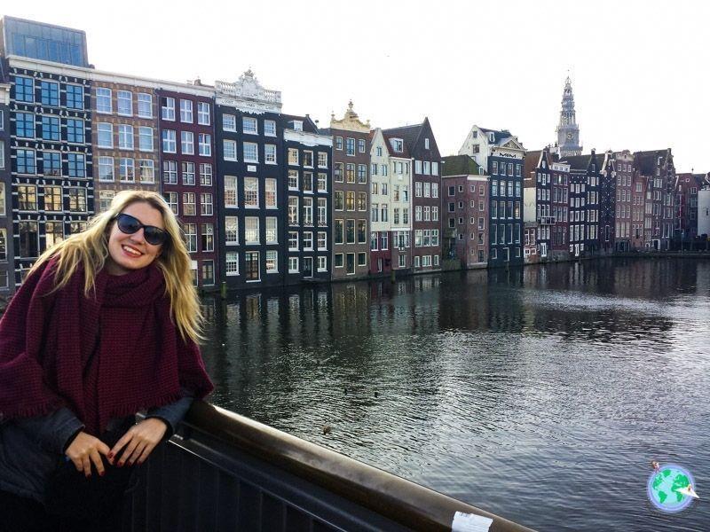 Ara en el canal de Ámsterdam