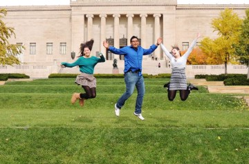 What Study Abroad Really feels Like A Group of Students Jumping