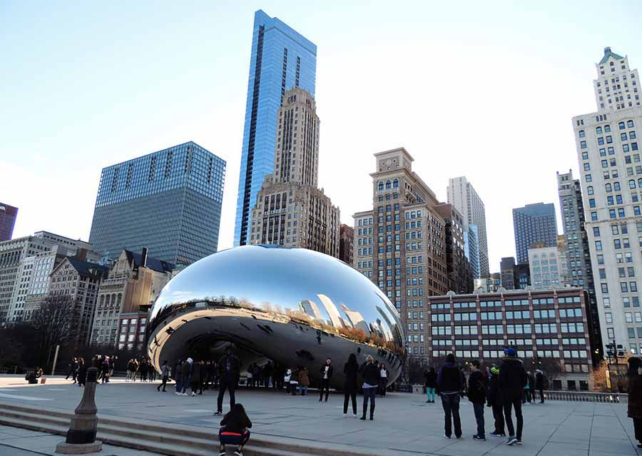 the Bean or the Cloud Gate - USA Bucket List