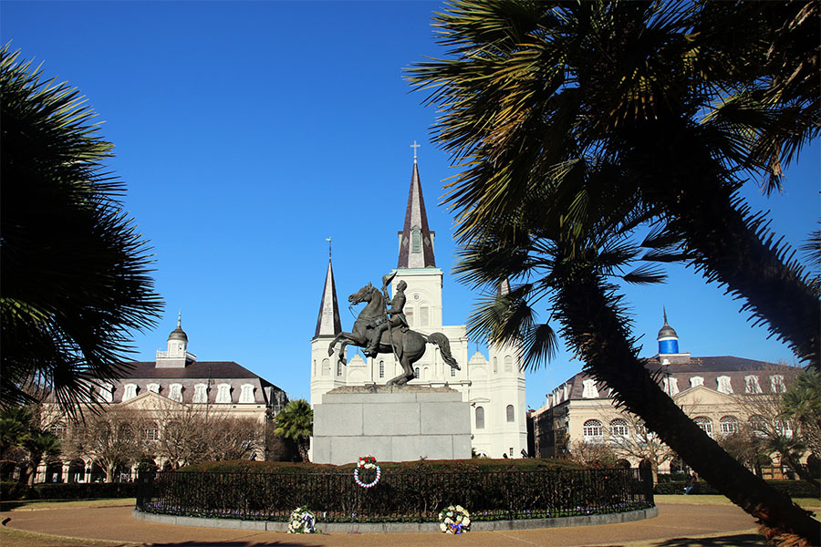 New Orleans Oldest Cities in the US Jackson Square