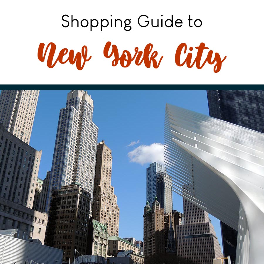 Shopping Guide to NYC