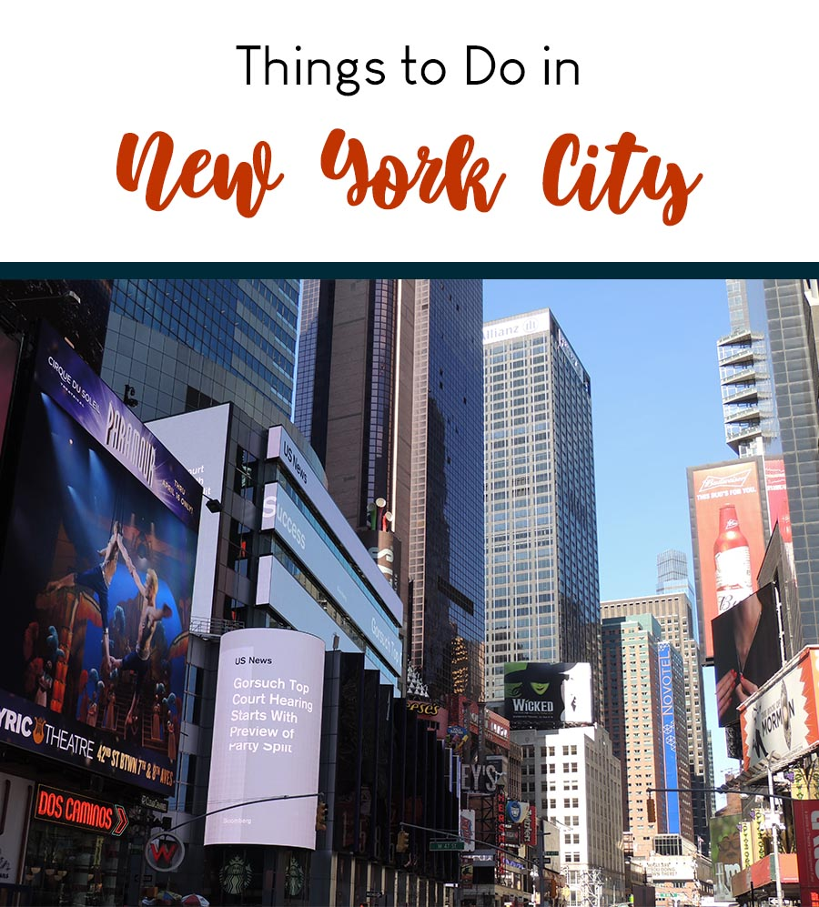 NYC Where to Go Tips