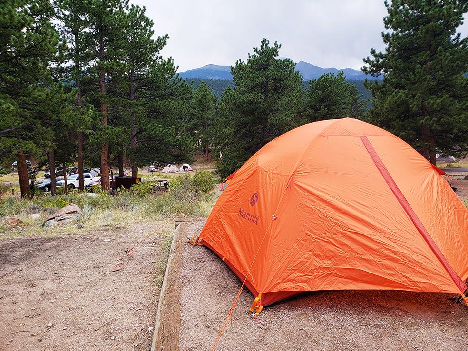 Camping Gear Marmot Tent