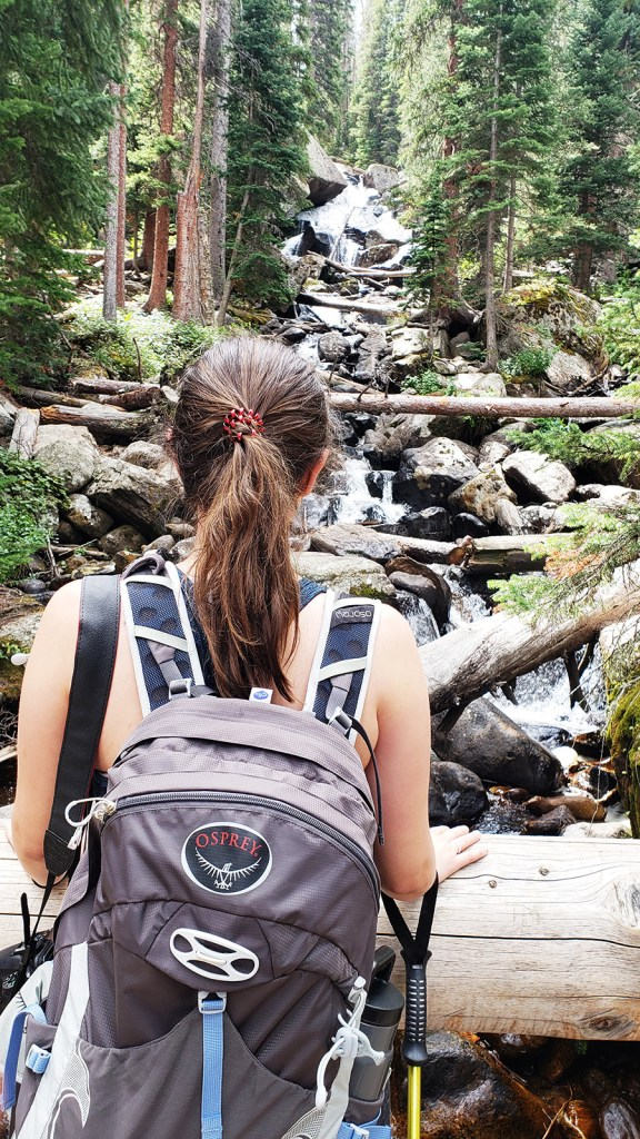 Creeks and views Ouzel Falls