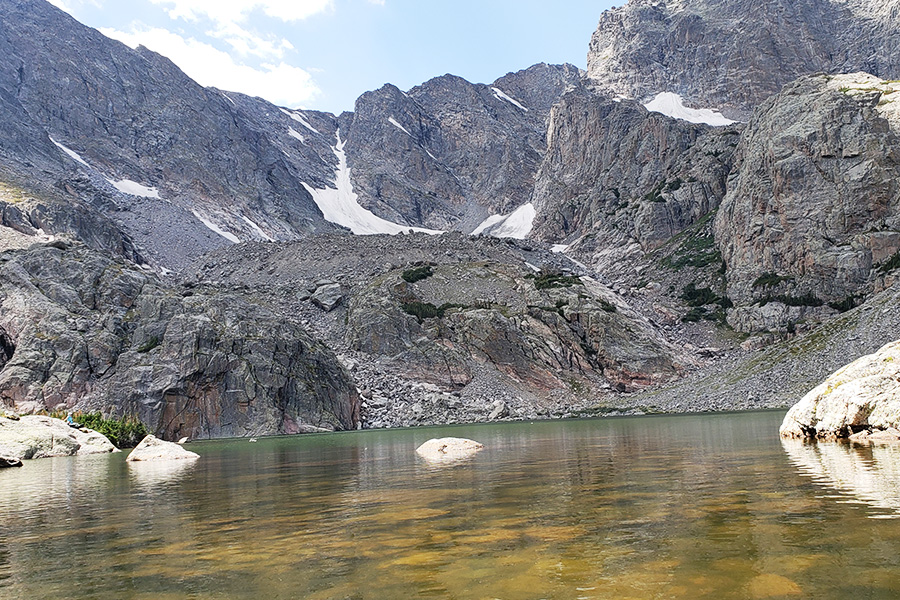 Sky Pond Trail