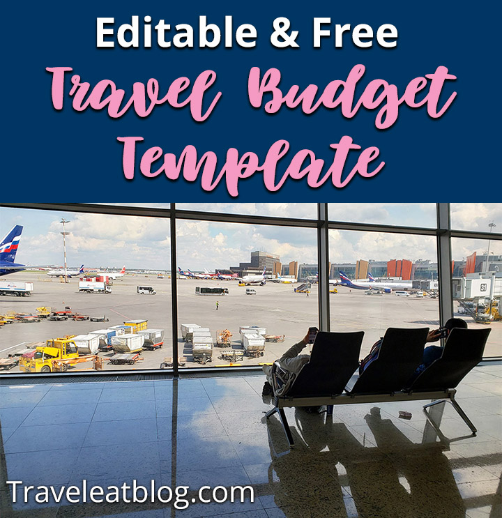 Free Travel Budget Template y TravelEatBlog