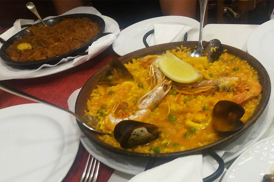 Try Paella in Barcelona