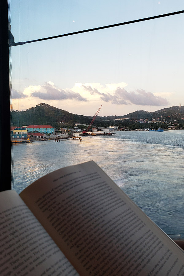 It was my favorite place to come read a book before sailing off from the ports,