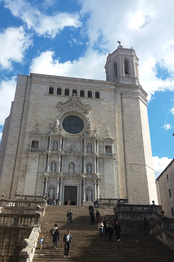 A trip from Barcelona to Girona