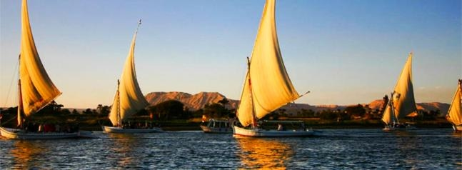 Felucca From Aswan Egypt