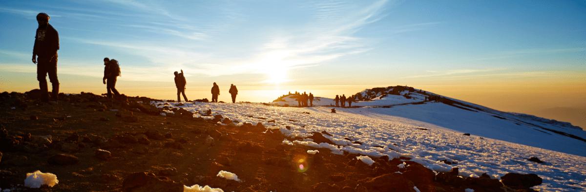 Machame Route 6 Days Kilimanjaro Trekking in Tanzania