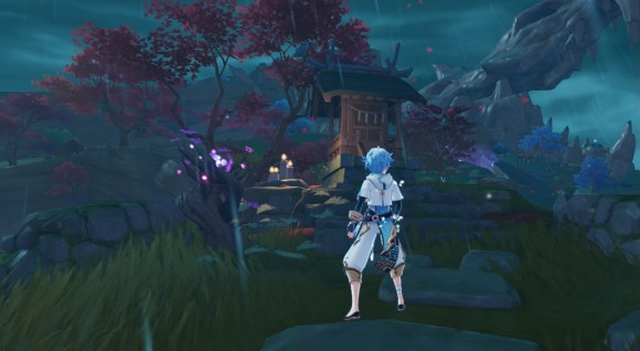 inazuma hidden achievement shrine locations