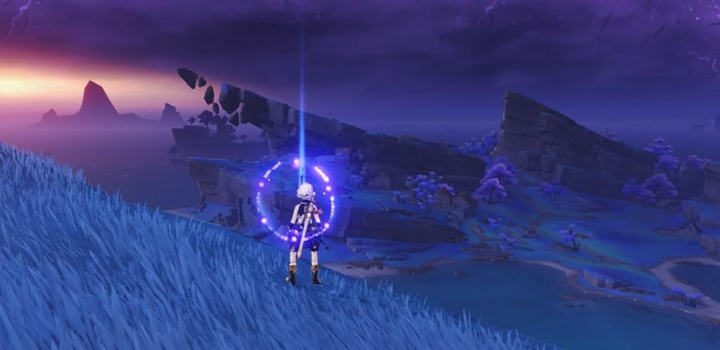 seirai's reminiscence photo locations genshin impact 2.1 inazuma quest