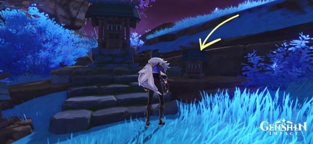 seirai's reminiscence genshin impact 2.1 photo locations quest inazuma
