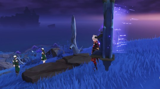 genshin impact seirai stormchasers part 3 warding stone inazuma world quest
