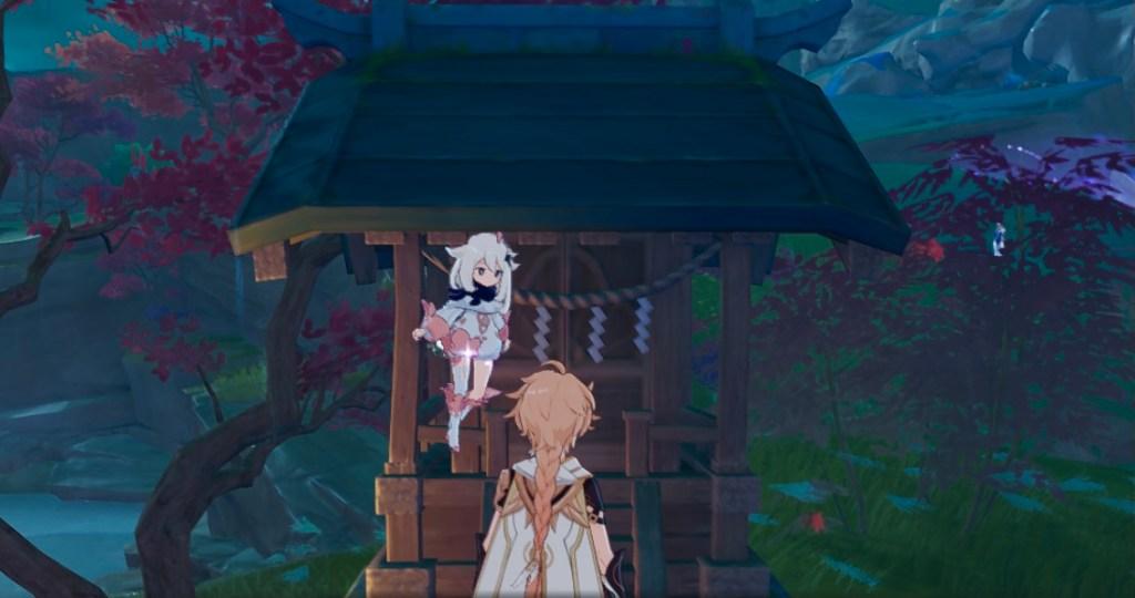 hidden achievement inazuma shrine