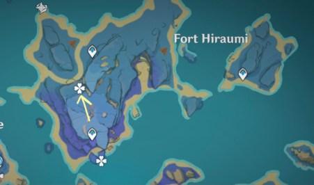 seirai's reminiscence genshin impact 2.1 photo locations quest