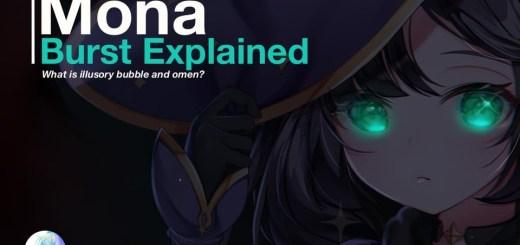 Mona's Elemental Burst Stellaris Phantasm