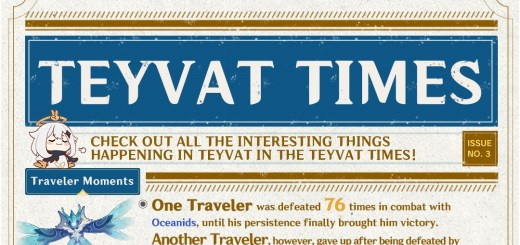 Teyvat Times Issue 3 Featured Image