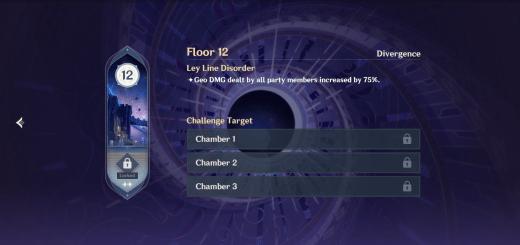 Spiral Abyss Floor 12