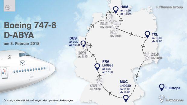 Lufthansa Németország körút
