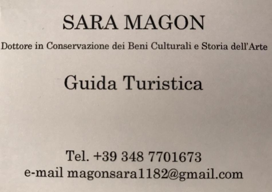 Sara Magon, Guida Turistica