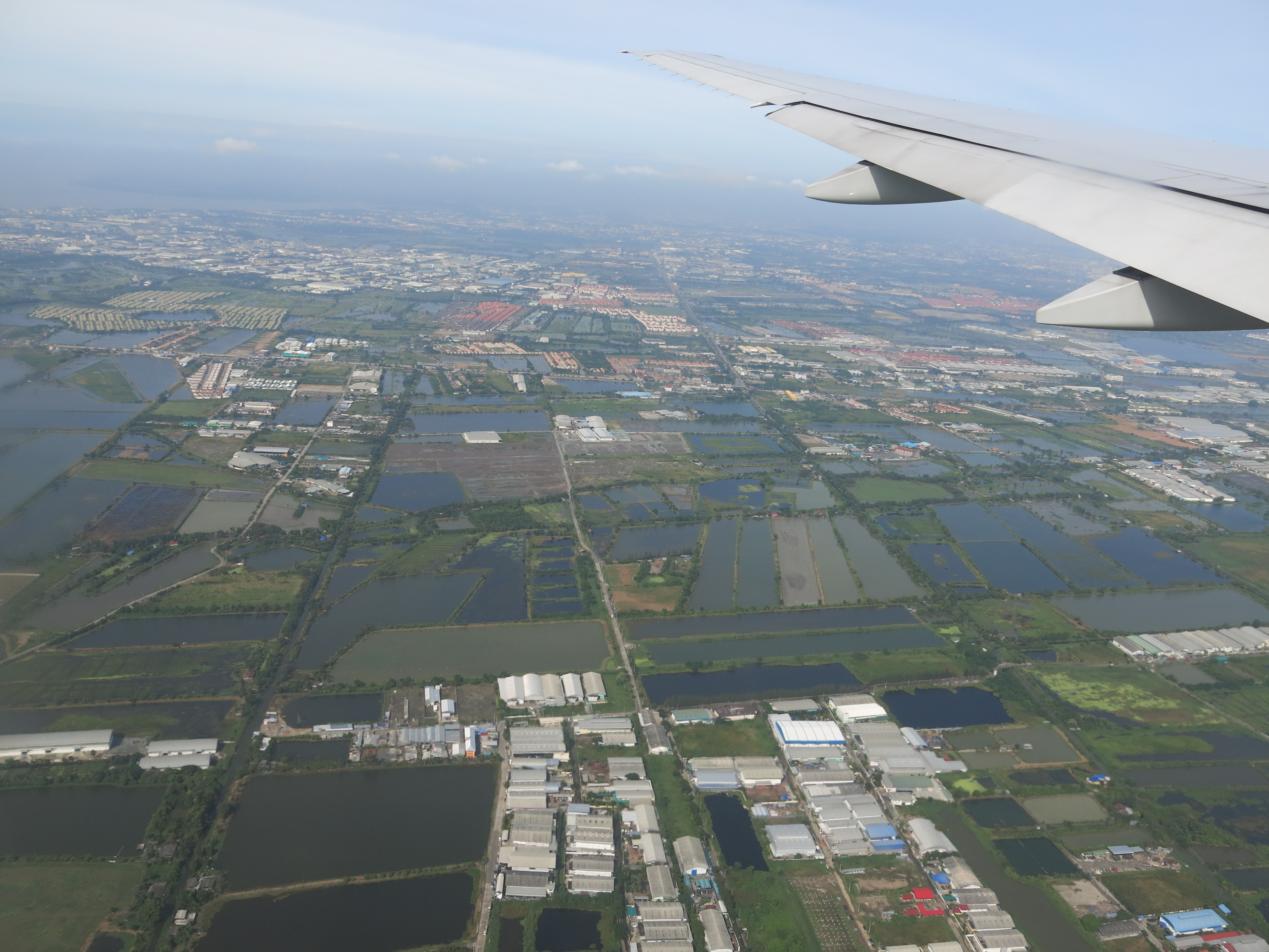 Flying with Thai airways: From SIN to BKK