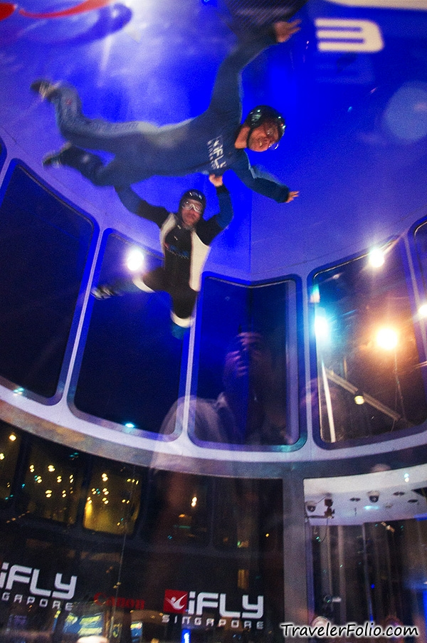 iFly Singapore Worlds Largest Indoor Skydiving Wind