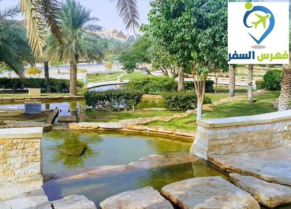 منتزه البجيري الرياض بالدرعية وأهم الأنشطة الترفيهية الموجودة فيه فهرس السفر