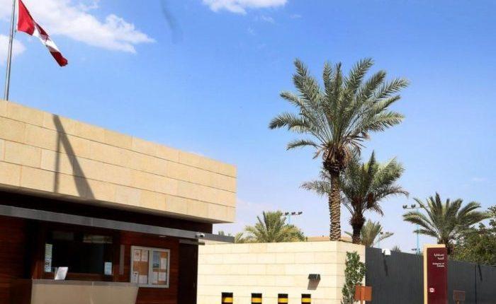 السفارة الكندية بالرياض عنوان وارقام سفارة كندا في الرياض فهرس السفر