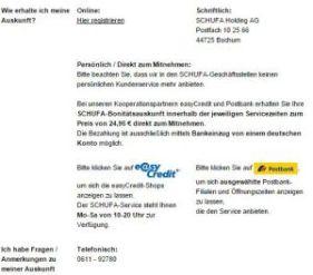 meinschufa.de am 20.12.2014