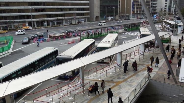 東京駅・成田空港間のシャトルバスの利用方法について