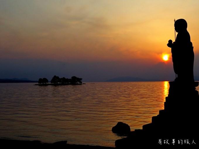 宍道湖日落