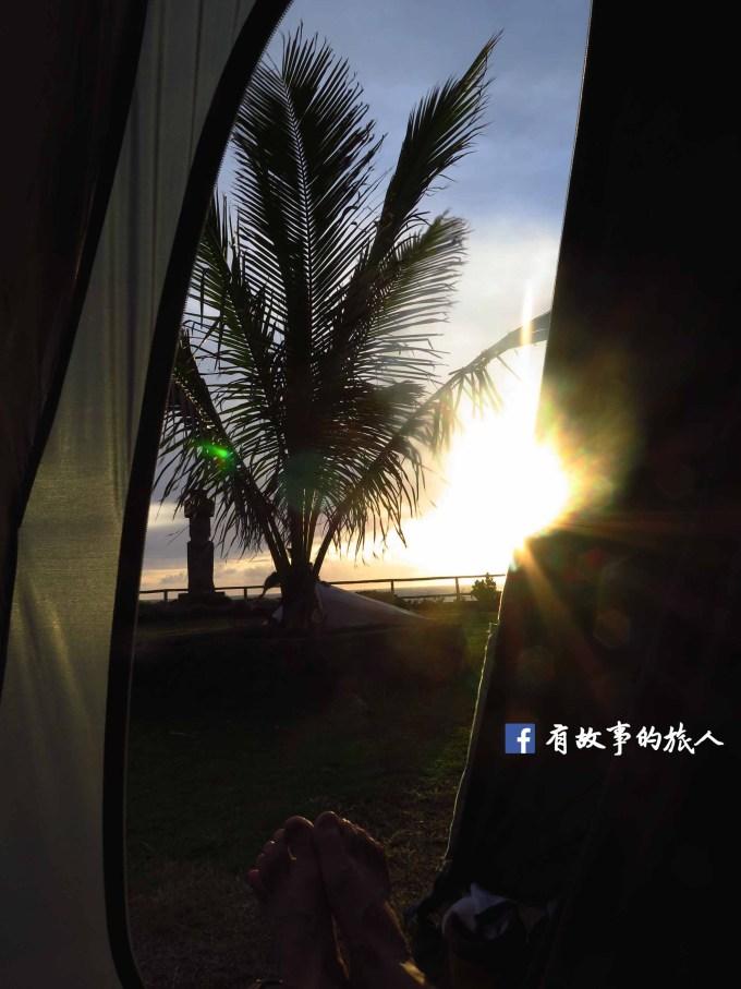 復活節島露營